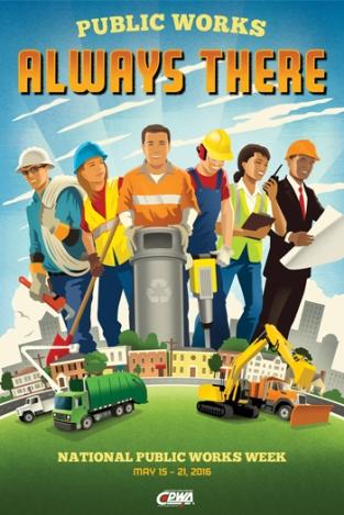 2016 Public Works Week Logo